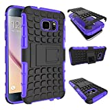 S7 Case, Galaxy S7 Case, DRUnKQUEEn® Armorbox Hybrid Dual Layer Combo Full Body Heavy Duty Protection Armor Defender Protective Shock Reduction Bumper Case Holster with Kickstand for Samsung Galaxy S7
