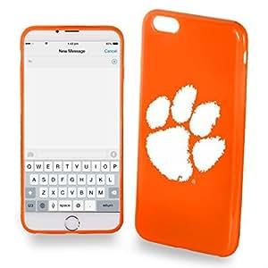 2015 CustomizedClemson Tigers iPhone 6 Plus TPU Silicone Soft Protective Slim Case