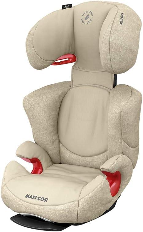 Maxi-Cosi RodiFix AirProtect 15-36 kg,/negro Silla de coche para ni/ño con ISOFIX segura y ligera Nomad Black desde los 3,5 hasta los 12 a/ños reclinable