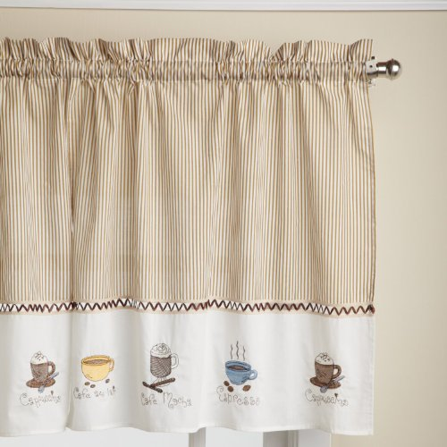 Coffee Themed Kitchen Curtains: Coffee Kitchen Curtains: Amazon.com