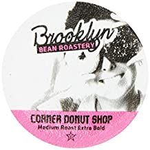 Brooklyn Bean Corner Donut Shop Coffee Capsule, Compatible with Keurig K-Cup Brewers, 24-Count