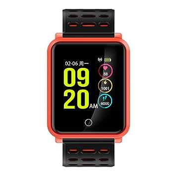 Coloré(TM) Montre Connectée, Fitness Tracker Pression artérielle Moniteur de fréquence cardiaque Moniteur