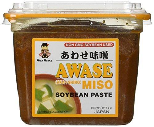 miko-awase-miso-soyabean-paste-aka-shiro-500-gram-gmo-free-japanese-miso-paste
