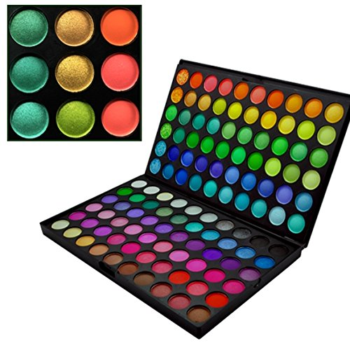 Eshion Pro 120 Full Colors Cosmetics Set Eyeshadow Makeup Palette (120 Full Color Palette)