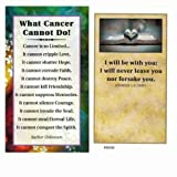 What Cancer Cannot Do Pocket Cards Package of 100
