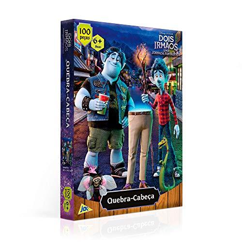 Quebra-cabeça Dois Irmãos 100 peças, Toyster Brinquedos