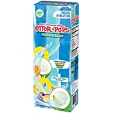 Otter Pops 100% Coconut Water Sorbet Ice Pops - Made from Coconut Water - New Tropical Flavors Include Fruit Punch, Pineapple, Coconut and Mango (12 Boxes of 6 Ice Pops)
