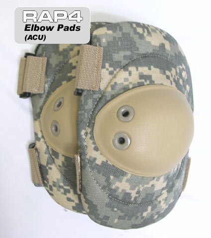 Acu Elbow Pads - Elbow Pads (ACU) - paintball elbow pads