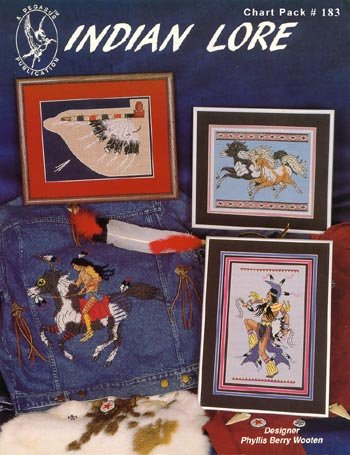 Pegasus Originals Indian Lore Counted Cross Stitch Chartpack (Cross Stitch Seattle)