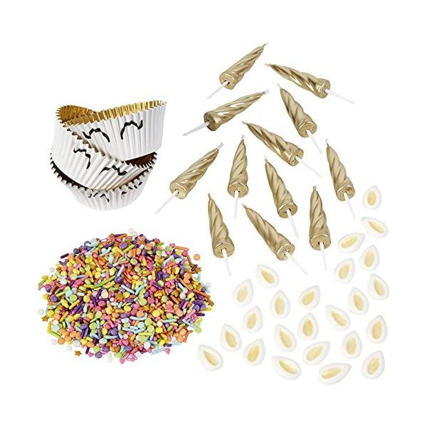 ROSANNA PANSINO by Wilton Unicorn Cupcake Decorating Kit 4