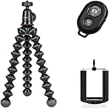 Joby GorillaPod Hybrid Compact Cameras Tripod Ivation Wireless Bluetooth Camera Shutter Remote Control