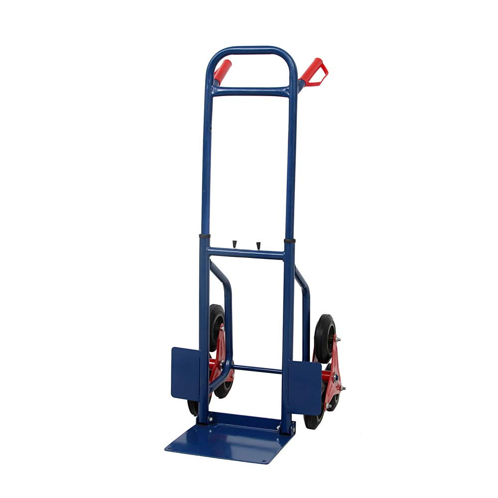 440lbs Heavy Duty Stair Climbing Moving Dolly Hand Truck Warehouse Appliance Cart Blue
