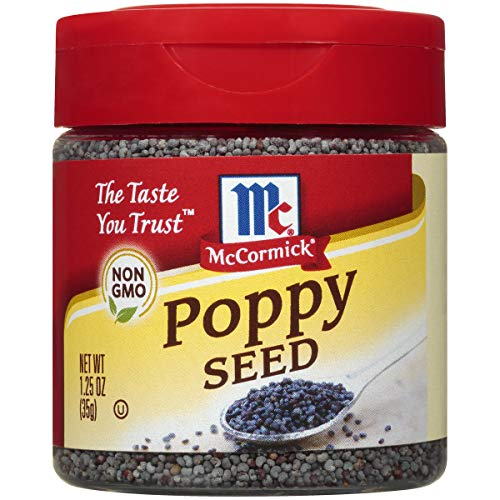Price comparison product image McCormick Poppy Seed,  1.25 oz (Pack of 6)