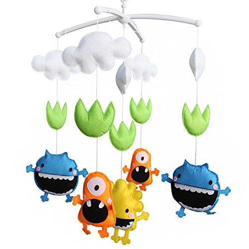 monster baby mobile - 4