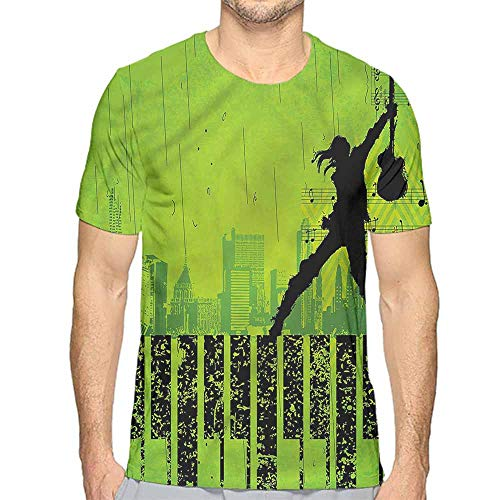 t Shirt Printer Popstar Party,Music in The City Junior t Shirt S]()