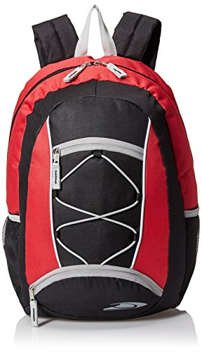 Trailmaker Boys Bungee Backpack Red product image