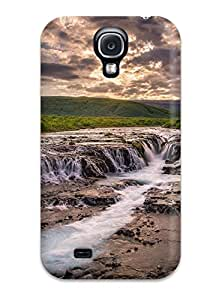 Hot Style CKsenee5478dzsFW Protective Case Cover For Galaxys4(waterfall)
