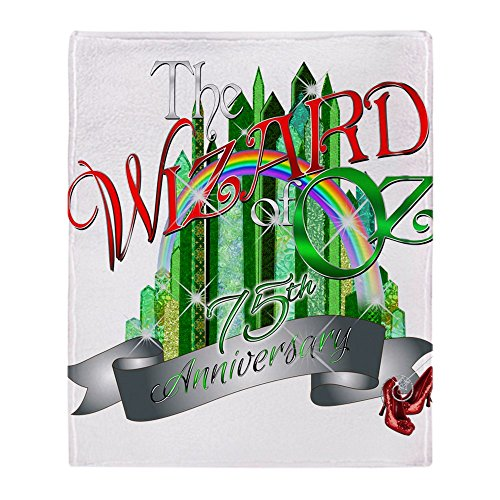 Wizard Of Oz Blankets - CafePress Wizard Of OZ 75Th Anniversary Emeral - Soft Fleece Throw Blanket, 50