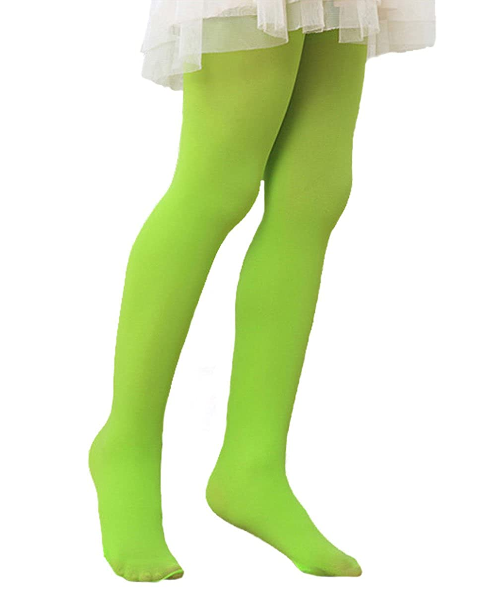 Azue Girls Comfy Fit Cute Leggings Long Leg Dress Tights Footed Pantyhose