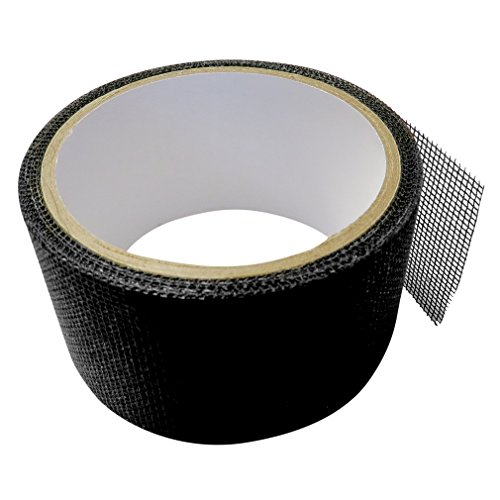 Chic Evelots 15 FT Window U0026 Door Screen Repair Tape Adhesive U0026  Waterproof,Fix Screens