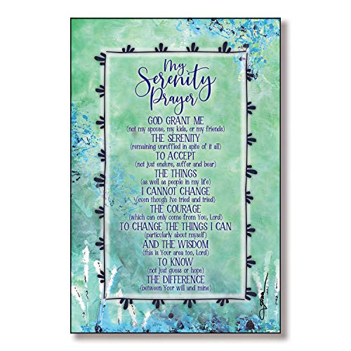 Serenity Prayer Wood Plaque with Inspiring Quotes 6