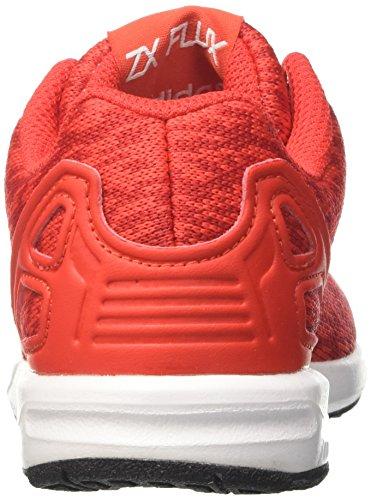 adidas Unisex-Kinder ZX Flux C Gymnastikschuhe Rot (Core Red S17/ftwr White/core Black)