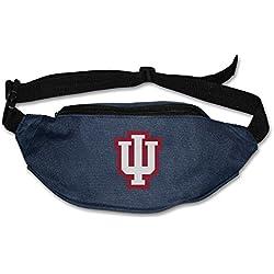 AUSIN Unisex Indiana University Running Waist Bum Bag Navy