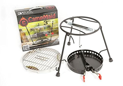 CampMaid Grill & Smoker (3 Piece) by CampMaid B0160UHWDQ