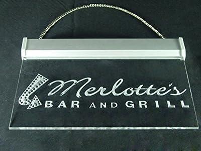 Merlotte's Bar Grill True Blood Led Light Sign