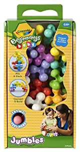 Crayola Beginnings Baby 20ct Jumbles