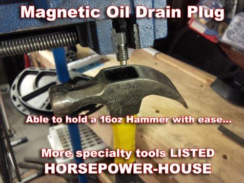 Triumph Trophy TT  Motorcycle Magnetic Oil Drain Plug Bolt M14