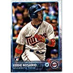 48c0a79abe7 Eddie Rosario Minnesota Twins Signed Autographed White #20 Jersey ...