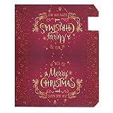 Wamika Merry Christmas Mailbox Cover Xmas