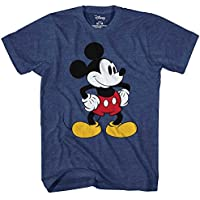 Mickey Mouse Tones Graphic Tee Classic Vintage Disneyland World Mens Adult T-shirt Apparel