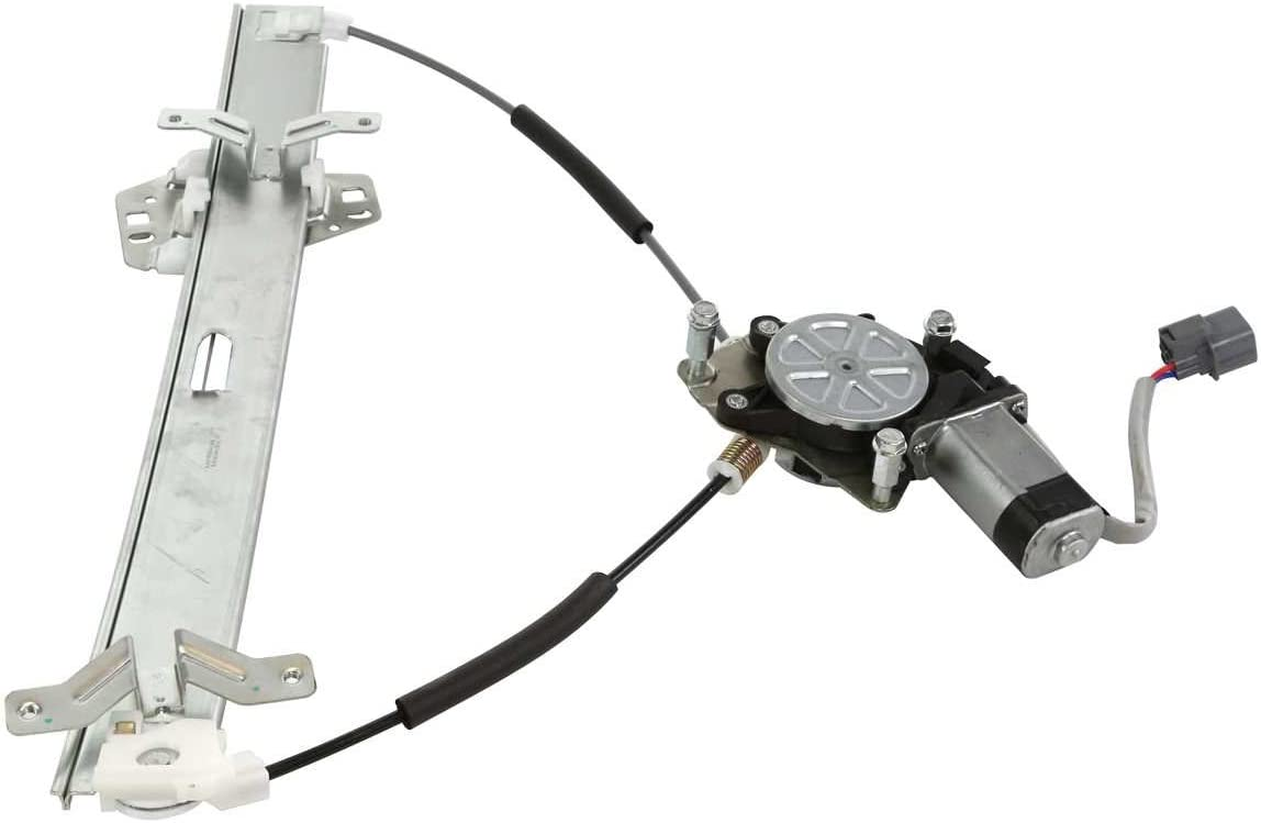 AutoShack WR848479PR Front Power Window Regulator Pair with Motors 2pc Fits Driver and Passenger Side