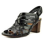 Clarks Ralene Luster Womens Heeled Slingback Sandals