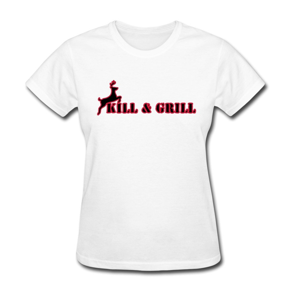 Vansty Kill and Grill 100% Cotton Shirt for Girlfriend