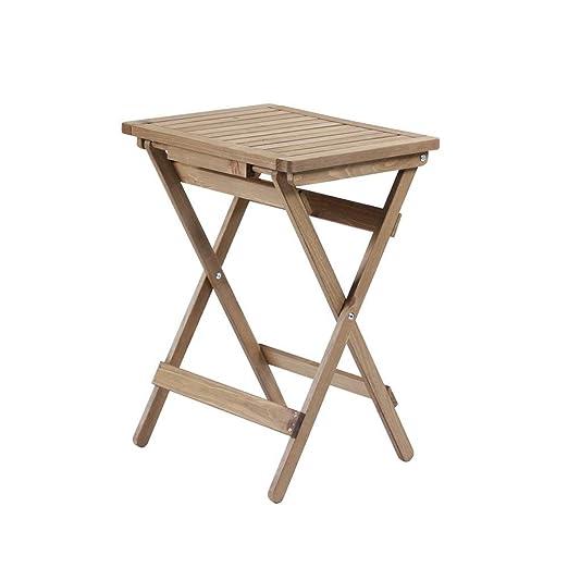 Retro Mesa de Comedor y sillas de Madera Maciza Combinación de ...