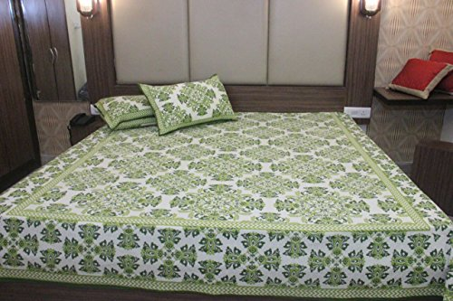 50%OFF Double Bedsheet With 2 Pillow Covers Fitted Double Bed Sheet Double  Bedsheet Cotton