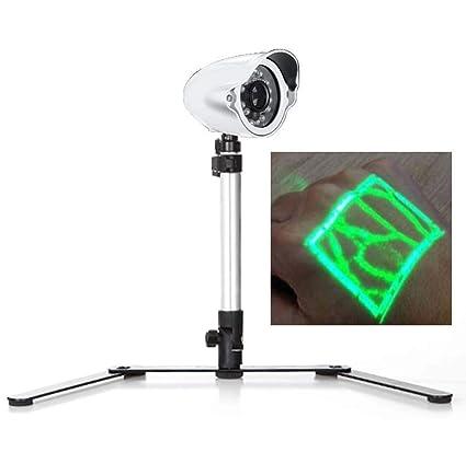 Visor infrarrojo del buscador de venas, detector portátil de iluminación de venas adecuado para adultos
