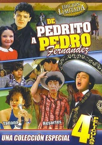De Pedrito a Pedro Fernandez [4 Peliculas] El Oreja Rajada & Vacaciones De Terror 1 & Vacaciones De Terror 2 & Cronica De Un (Peliculas Terror)