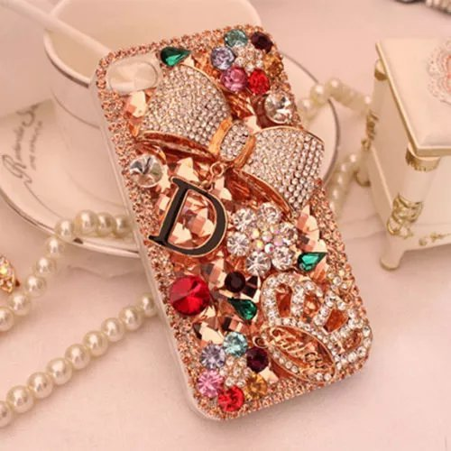 21a52b9d95cd Amazon.com  iPhone 7 Plus Rhinestone Case
