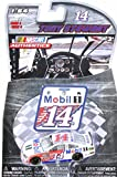 Tony Stewart's 2016 No. 14 Mobil 1 Chevrolet SS, White - Lionel 10205-W4 - 1/64 Scale Diecast Model Toy Car