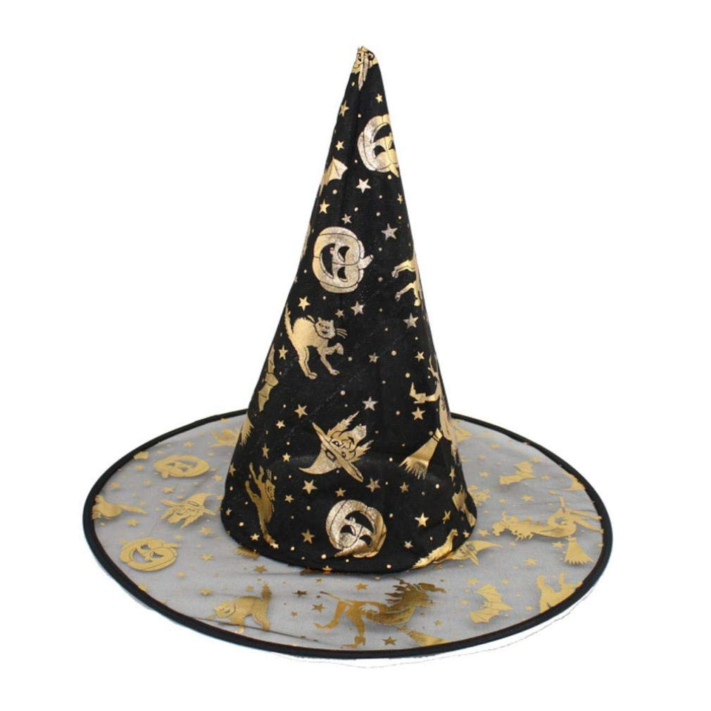Baigoods Wholesale 1Pc Adult Womens Witch Hat For Halloween Costume Accessory Random (random)