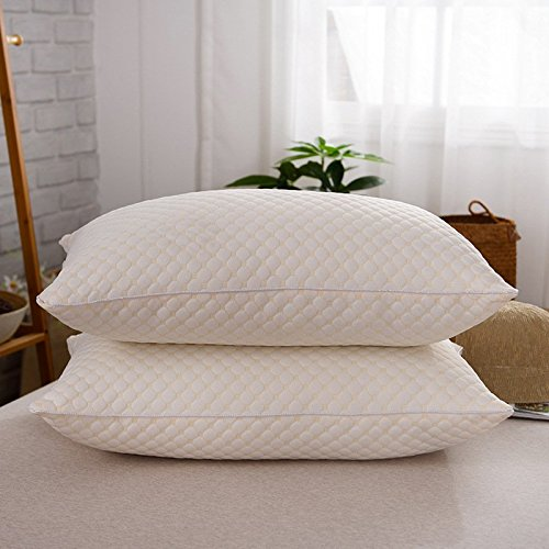 A wonderful, luxurious set of quality pillows for less, finally a pillow I can use to sleep on my side again, and wake up free of neck pain!!!!