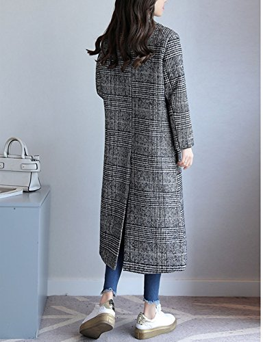 Long Jacket Manteau Veste Femme ACVIP Trench qwRA1xfO