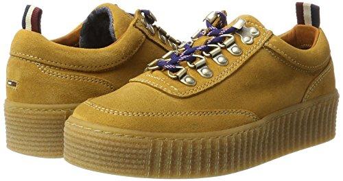 top Jeans spruce Low 1b Women''s Sneakers K1385elly Yellow Yellow Tommy SP46WW