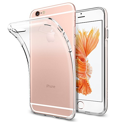 Spigen Liquid Crystal iPhone 6S Case with Slim Protection and Premium Clarity for iPhone 6S / iPhone 6 - Crystal Clear