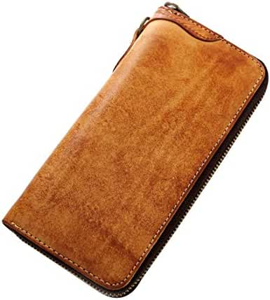 Geremen Geremen Men's Handmade Leather Bifold Clutch Wallet Sl09