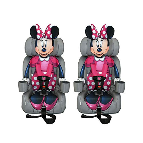 Kids Embrace Disney Minnie Mouse Combination Harness Booster Car Seat (2 Pack)